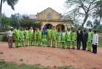 A cross section of some church leaders who toured the proposed clifford university site with pastor ted wilson thumb