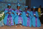 The four graduates from l to r gweth gombe asta essama 1 thumb